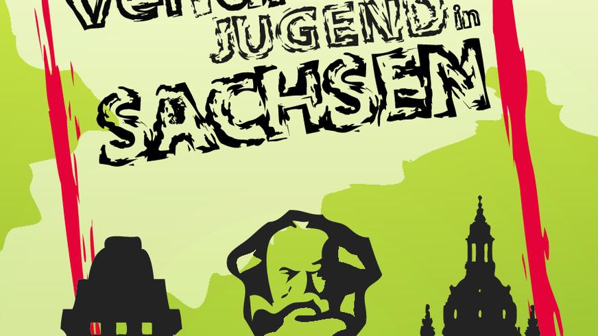 Logo, ver.di Jugend, Sachsen