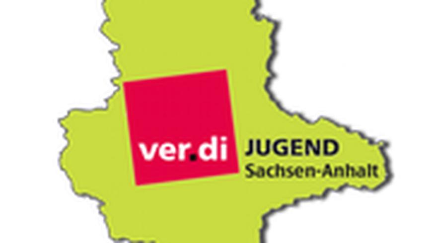 Logo, ver.di Jugend, Sachsen-Anhalt