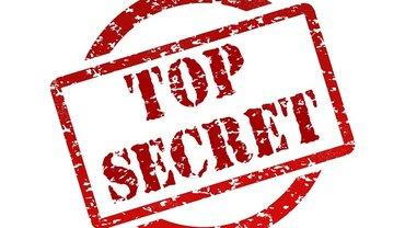 Top Secret Stempelgrafik