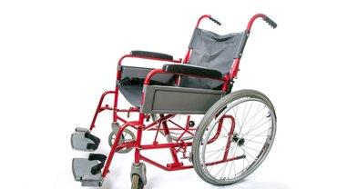 Bild von einem Rollstuhl