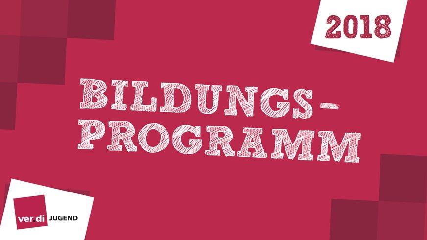Deckblatt Bildungsprogramm