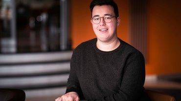 Portrait von Julian Anke, Jugendsekretär