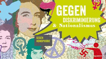 Illustration zum Thema Anti-Diskriminierung
