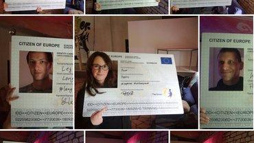 Foto-Collage der ver.di Jugend Thüringen zur Europawahl